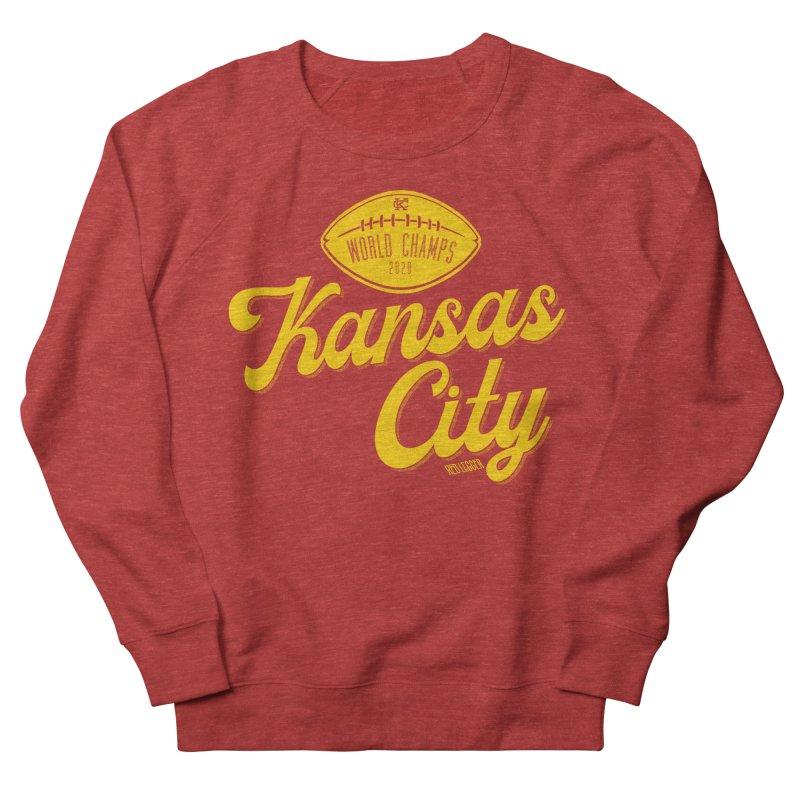 Kansas City Champs Men's French Terry Sweatshirt by redleggerstudio's Shop
