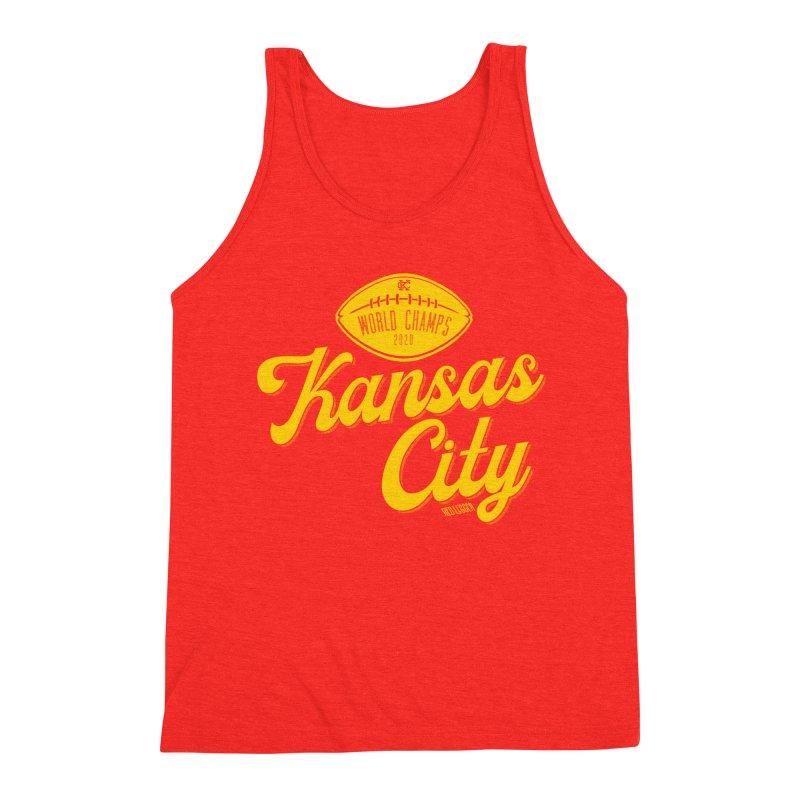 Kansas City Champs Men's Tank by redleggerstudio's Shop