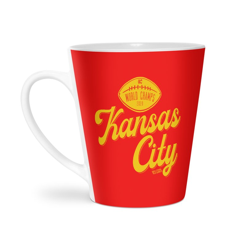 Kansas City Champs Accessories Mug by redleggerstudio's Shop