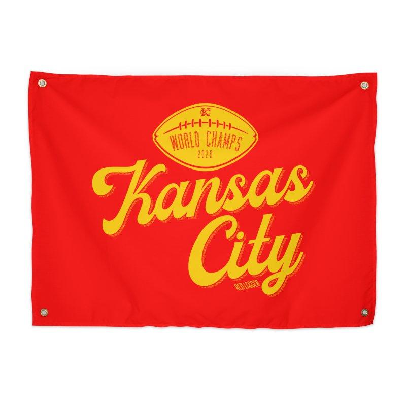 Kansas City Champs Home Tapestry by redleggerstudio's Shop
