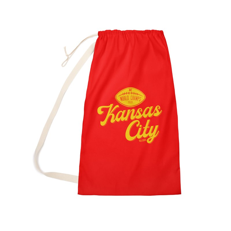 Kansas City Champs Accessories Bag by redleggerstudio's Shop