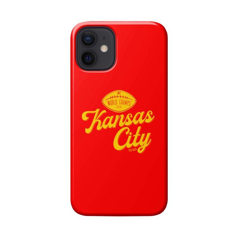 Kansas City Champs Accessories Phone Case by redleggerstudio's Shop