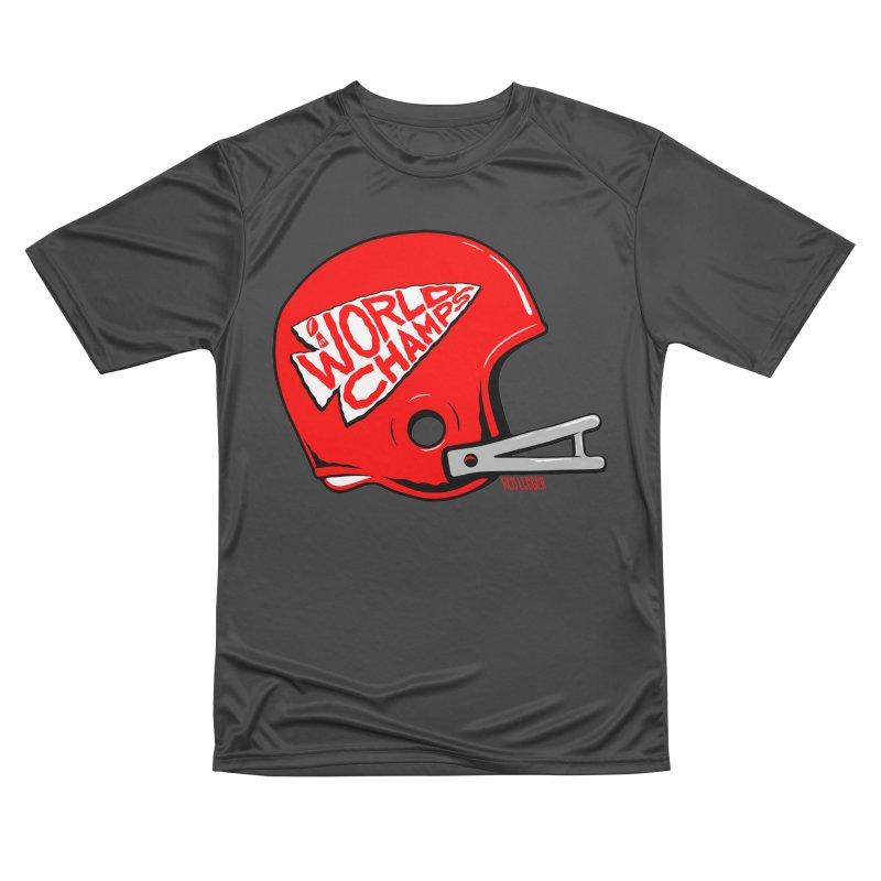 Champs Helmet Women's Performance Unisex T-Shirt by redleggerstudio's Shop