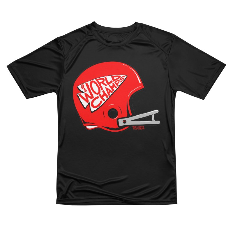 Champs Helmet Women's T-Shirt by redleggerstudio's Shop