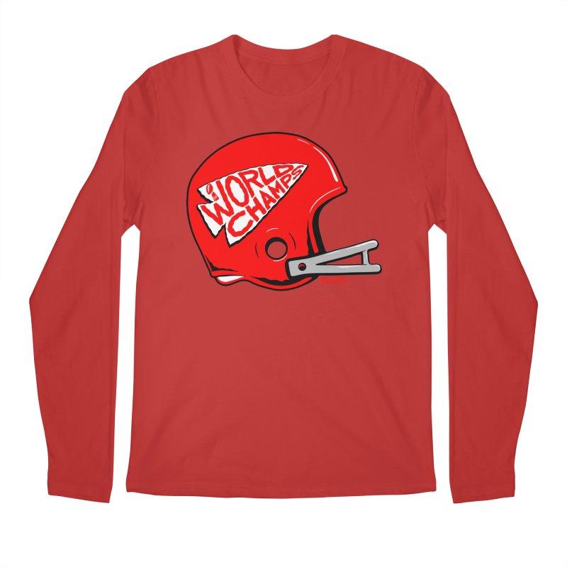 Champs Helmet Men's Regular Longsleeve T-Shirt by redleggerstudio's Shop