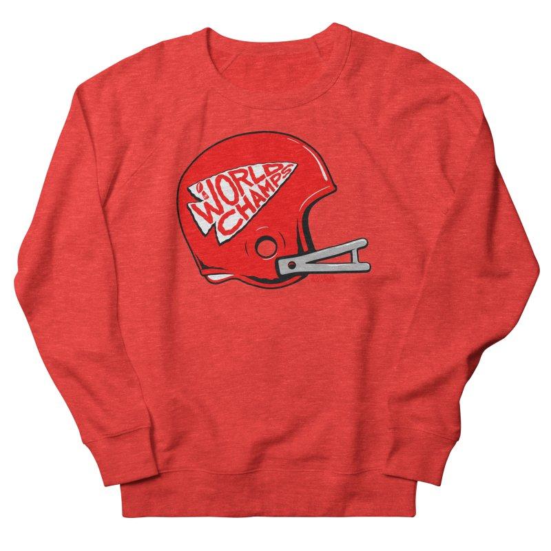 Champs Helmet Women's Sweatshirt by redleggerstudio's Shop
