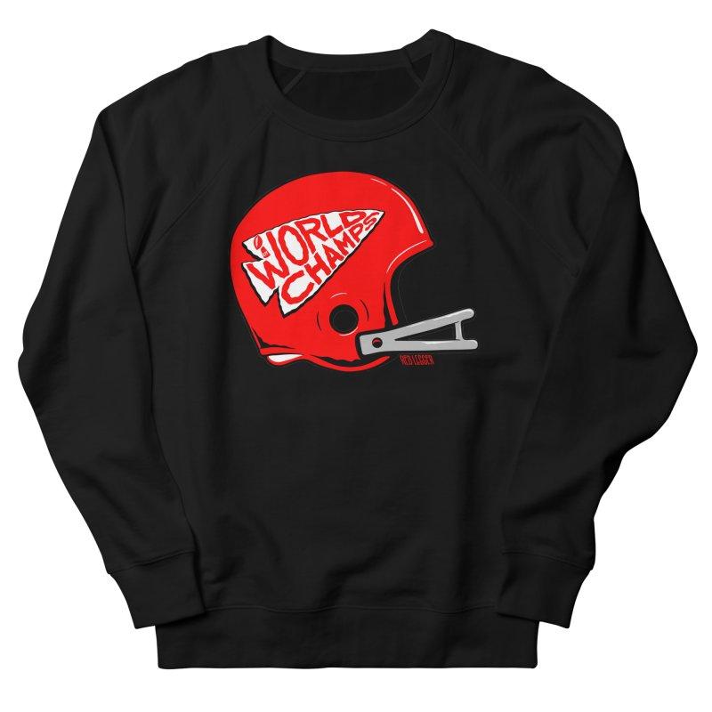 Champs Helmet Men's French Terry Sweatshirt by redleggerstudio's Shop