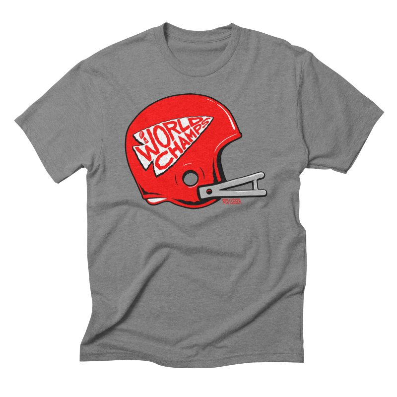 Champs Helmet Men's T-Shirt by redleggerstudio's Shop