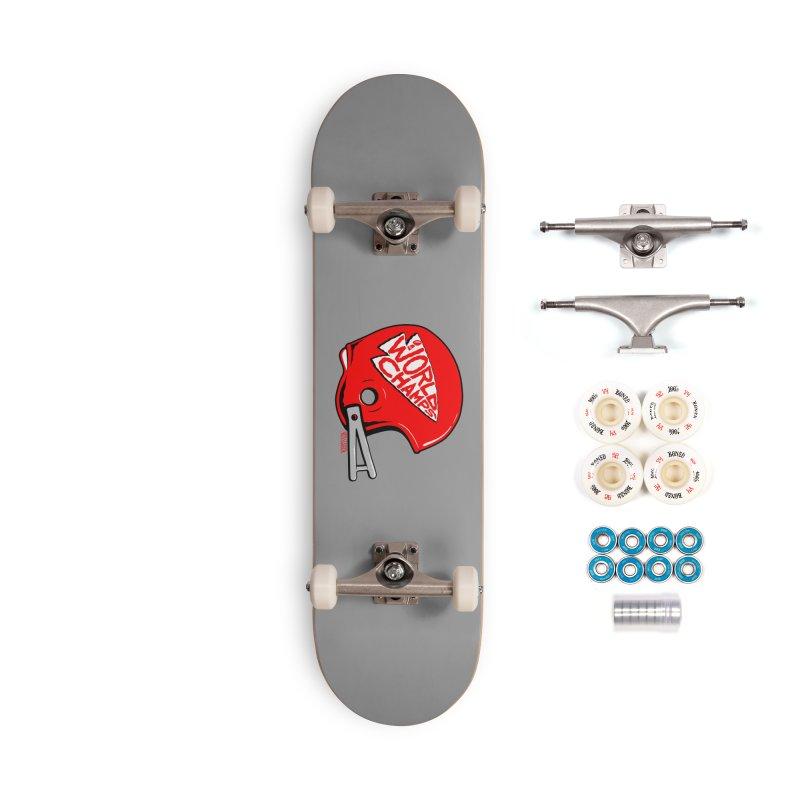 Champs Helmet Accessories Complete - Premium Skateboard by redleggerstudio's Shop