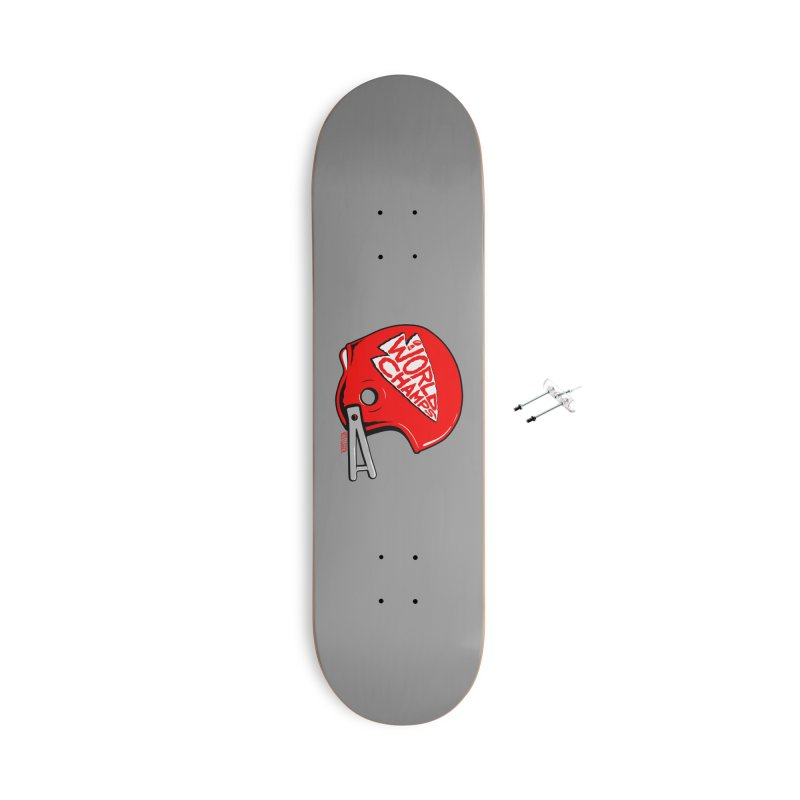 Champs Helmet Accessories Skateboard by redleggerstudio's Shop