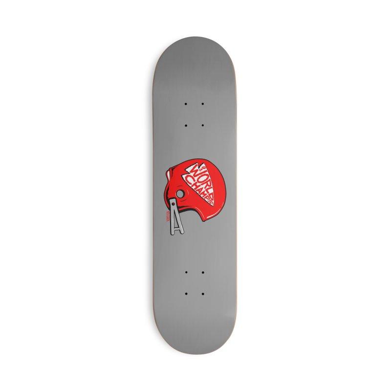 Champs Helmet Accessories Skateboard by redleggerstudio's Shop