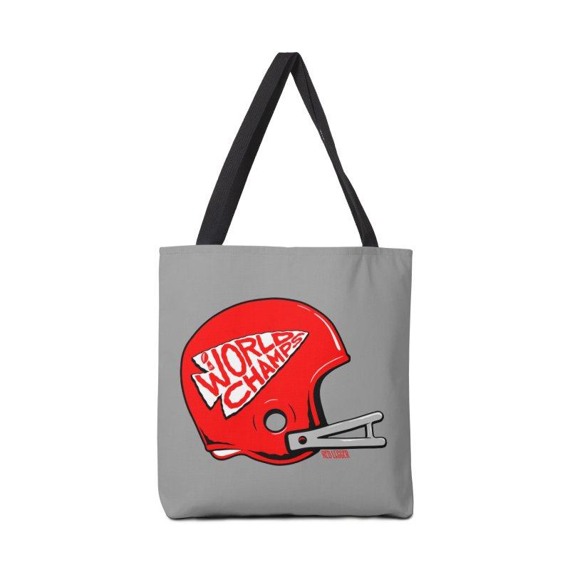 Champs Helmet Accessories Bag by redleggerstudio's Shop