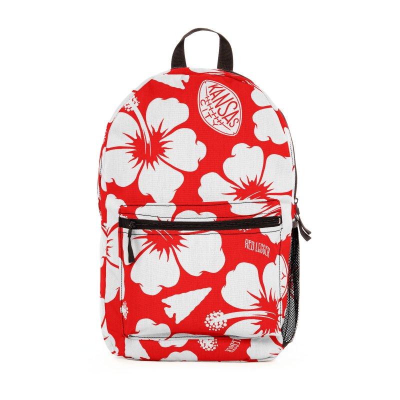 KC Big Red Hawaiian Accessories Bag by redleggerstudio's Shop