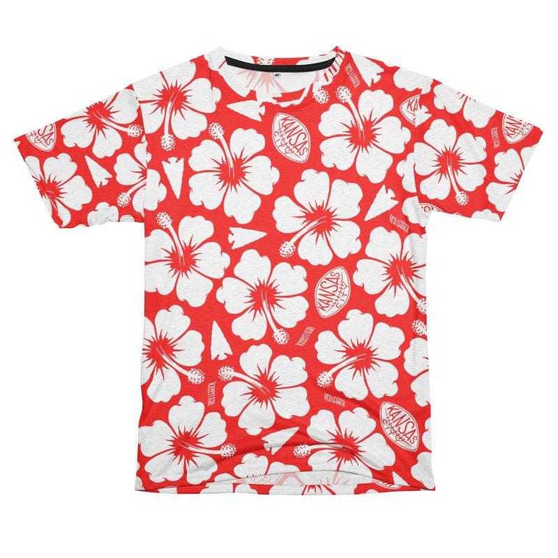 KC Big Red Hawaiian Men's Cut & Sew by redleggerstudio's Shop