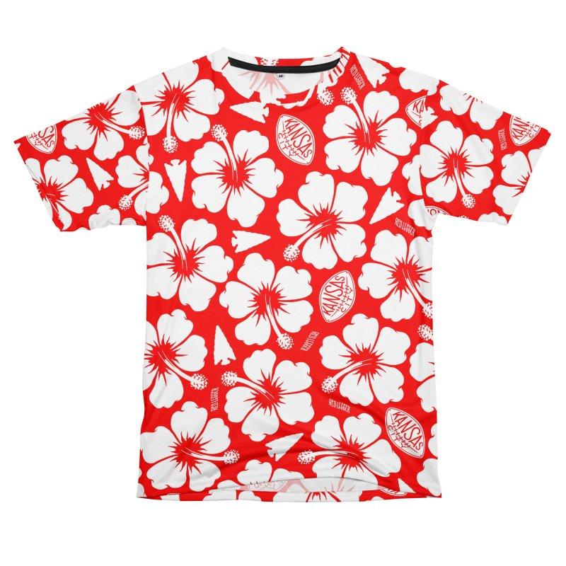 KC Big Red Hawaiian in Men's T-Shirt Cut & Sew by redleggerstudio's Shop