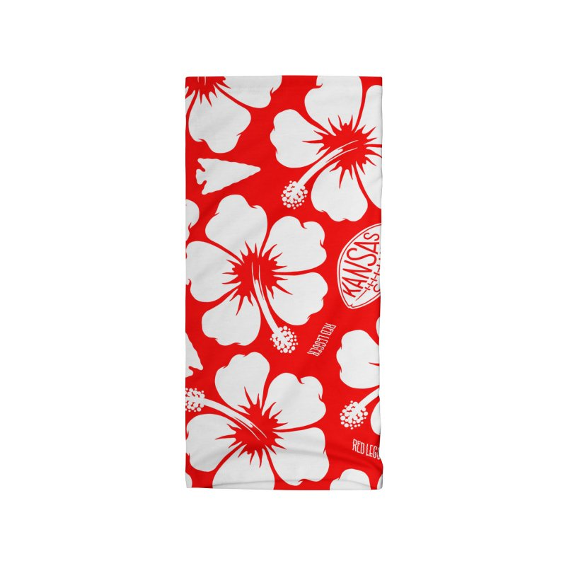 KC Big Red Hawaiian Accessories Neck Gaiter by redleggerstudio's Shop
