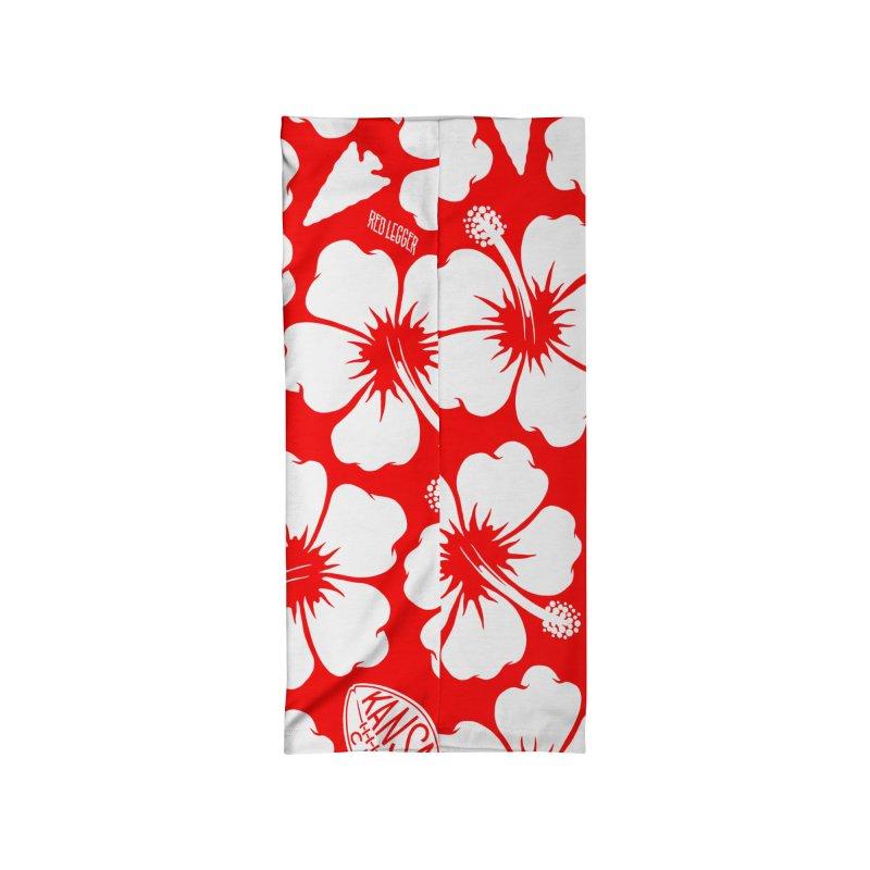 KC Big Red Hawaiian Accessories Neck Gaiter by redleggerstudio's Shop