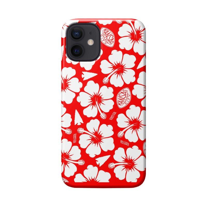 KC Big Red Hawaiian Accessories Phone Case by redleggerstudio's Shop