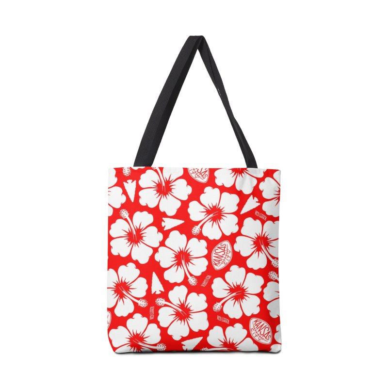 KC Big Red Hawaiian Accessories Bag by redleggerstudio's Shop