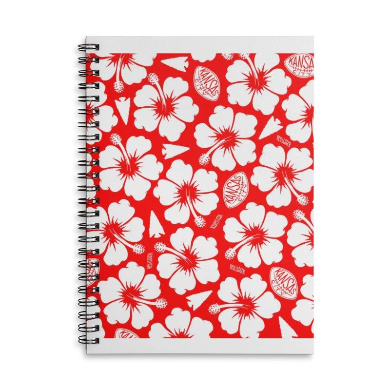 KC Big Red Hawaiian Accessories Notebook by redleggerstudio's Shop