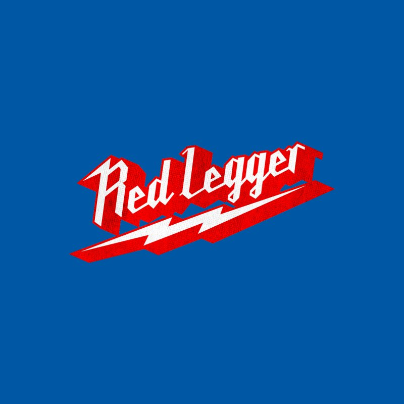 Red Legger Bolt Men's T-Shirt by redleggerstudio's Shop