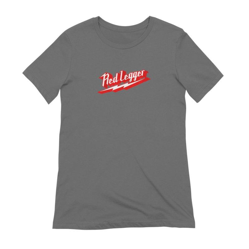 Red Legger Bolt Women's T-Shirt by redleggerstudio's Shop