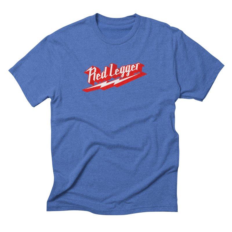 Red Legger Bolt Men's T-Shirt by redleggerstudio's Shop