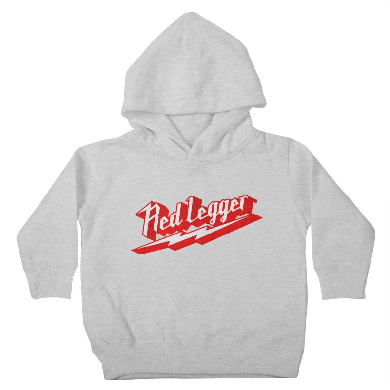 Red Legger Bolt Kids Toddler Pullover Hoody by redleggerstudio's Shop
