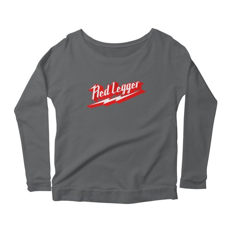 Red Legger Bolt Women's Longsleeve T-Shirt by redleggerstudio's Shop