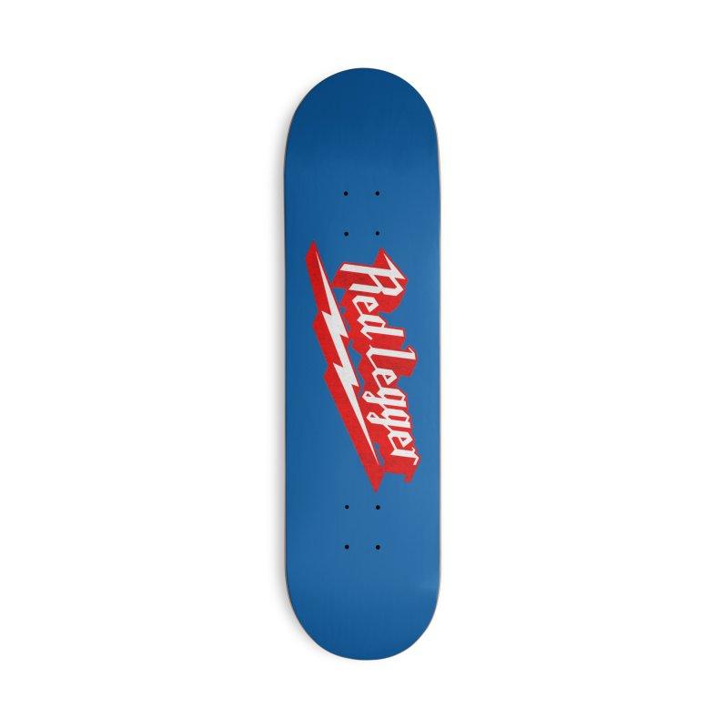 Red Legger Bolt Accessories Skateboard by redleggerstudio's Shop