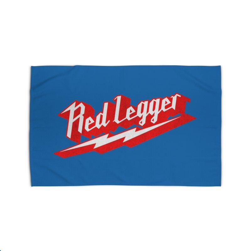 Red Legger Bolt Home Rug by redleggerstudio's Shop