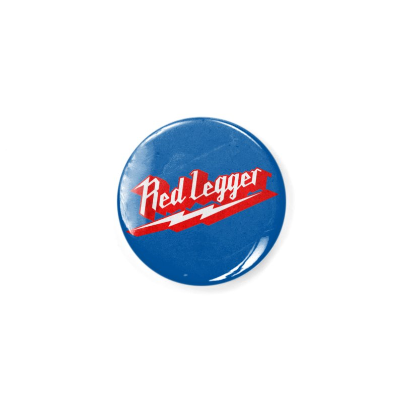 Red Legger Bolt Accessories Button by redleggerstudio's Shop