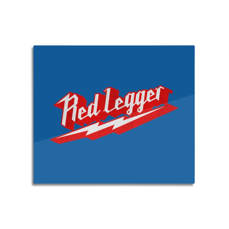 Red Legger Bolt Home Mounted Acrylic Print by redleggerstudio's Shop