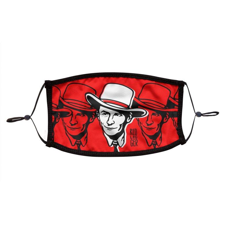 Hank Accessories Face Mask by redleggerstudio's Shop
