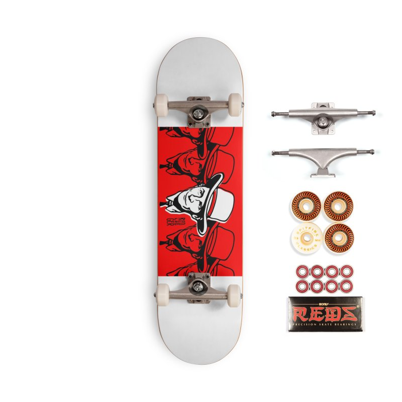 Hank Accessories Skateboard by redleggerstudio's Shop