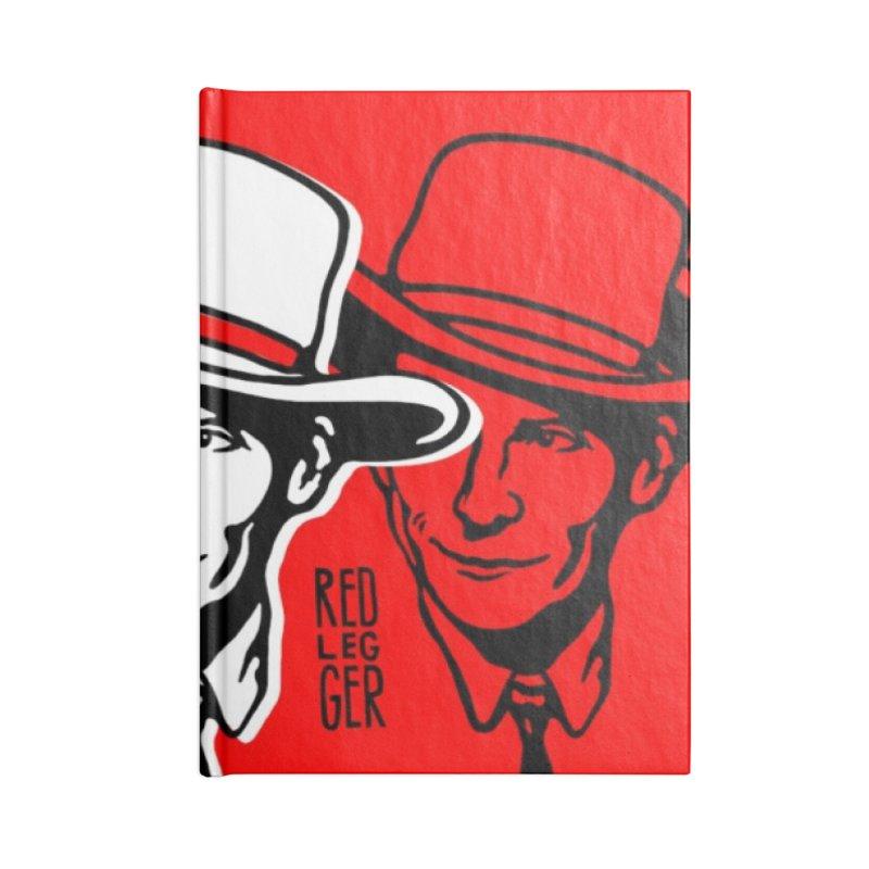 Hank Accessories Notebook by redleggerstudio's Shop