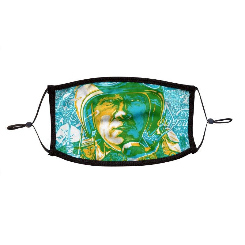 George Accessories Face Mask by redleggerstudio's Shop