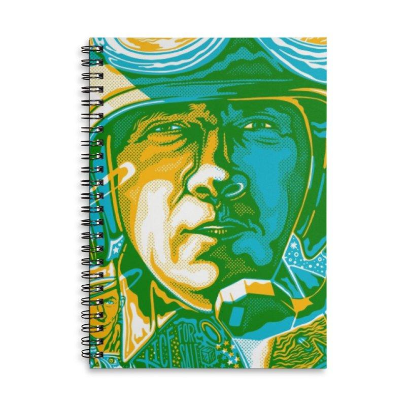 George Accessories Notebook by redleggerstudio's Shop