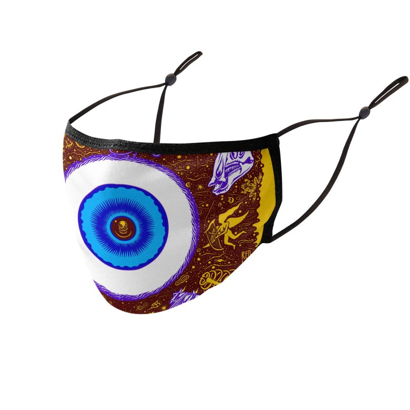 Eye Accessories Face Mask by redleggerstudio's Shop