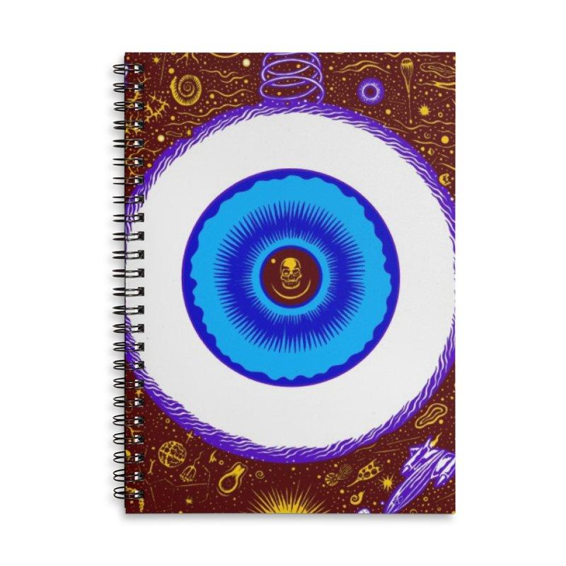Eye Accessories Notebook by redleggerstudio's Shop