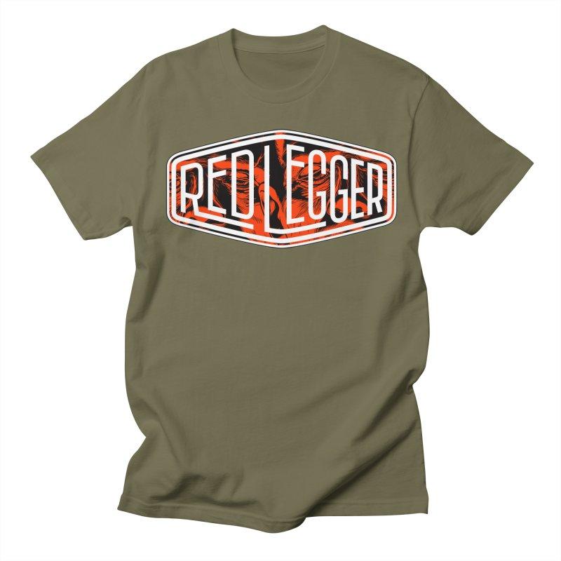 Red Legger Badge Men's T-shirt by redleggerstudio's Shop