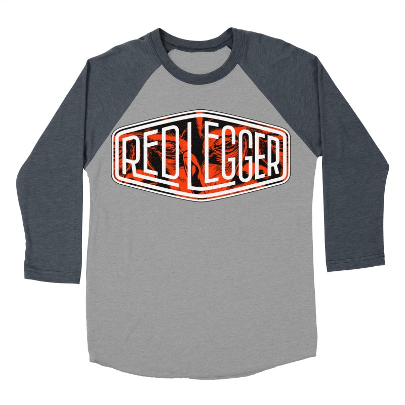 Red Legger Badge Men's Baseball Triblend T-Shirt by redleggerstudio's Shop