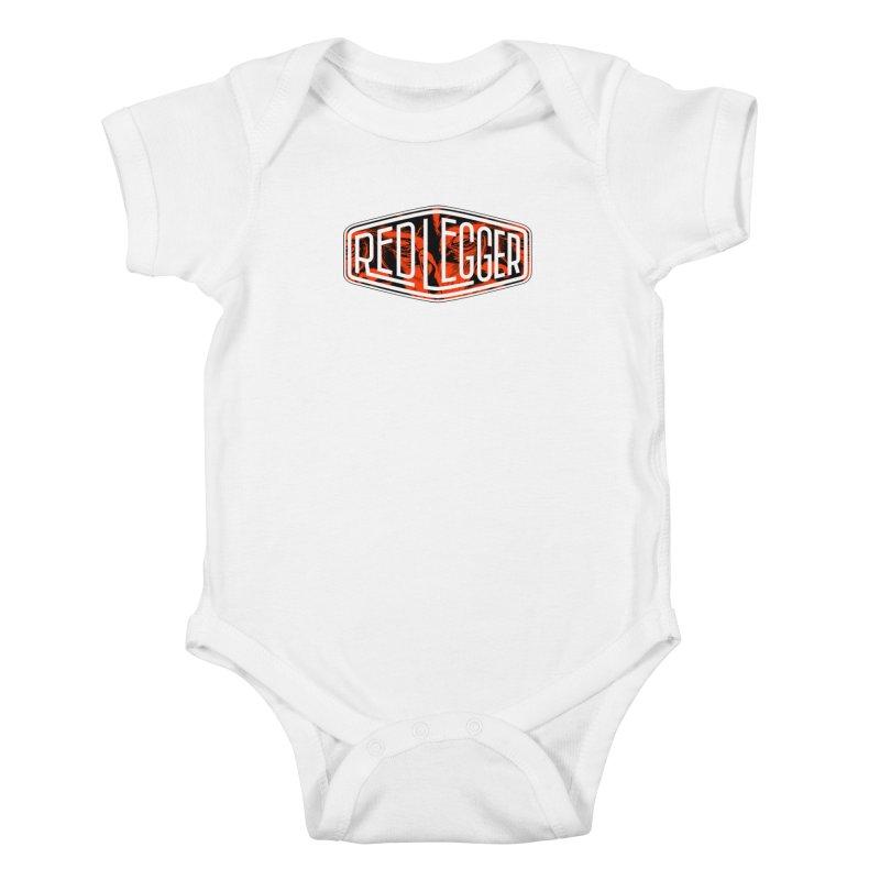 Red Legger Badge Kids Baby Bodysuit by redleggerstudio's Shop
