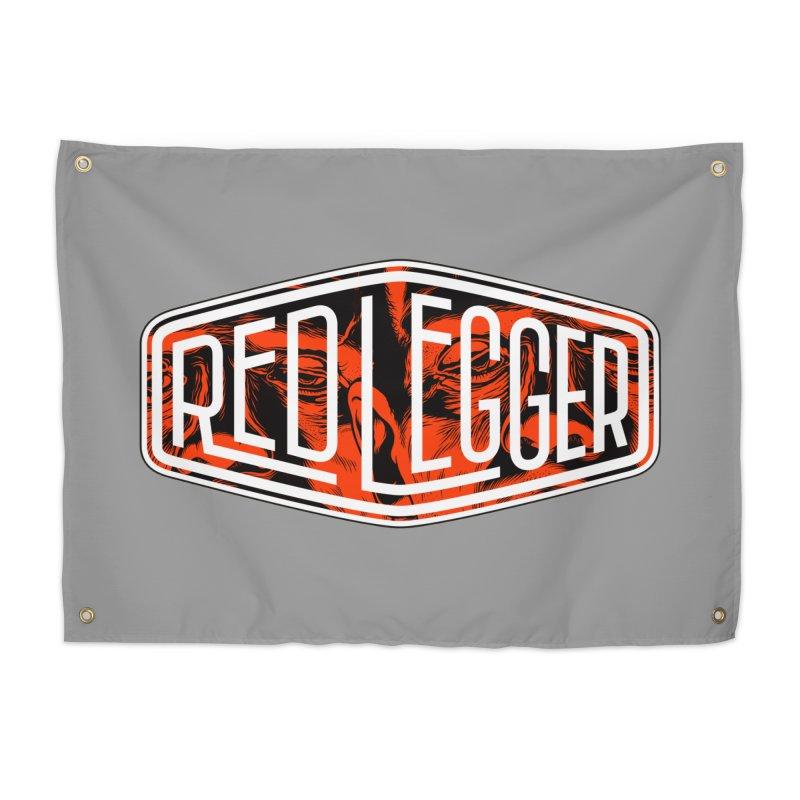 Red Legger Badge Home Tapestry by redleggerstudio's Shop