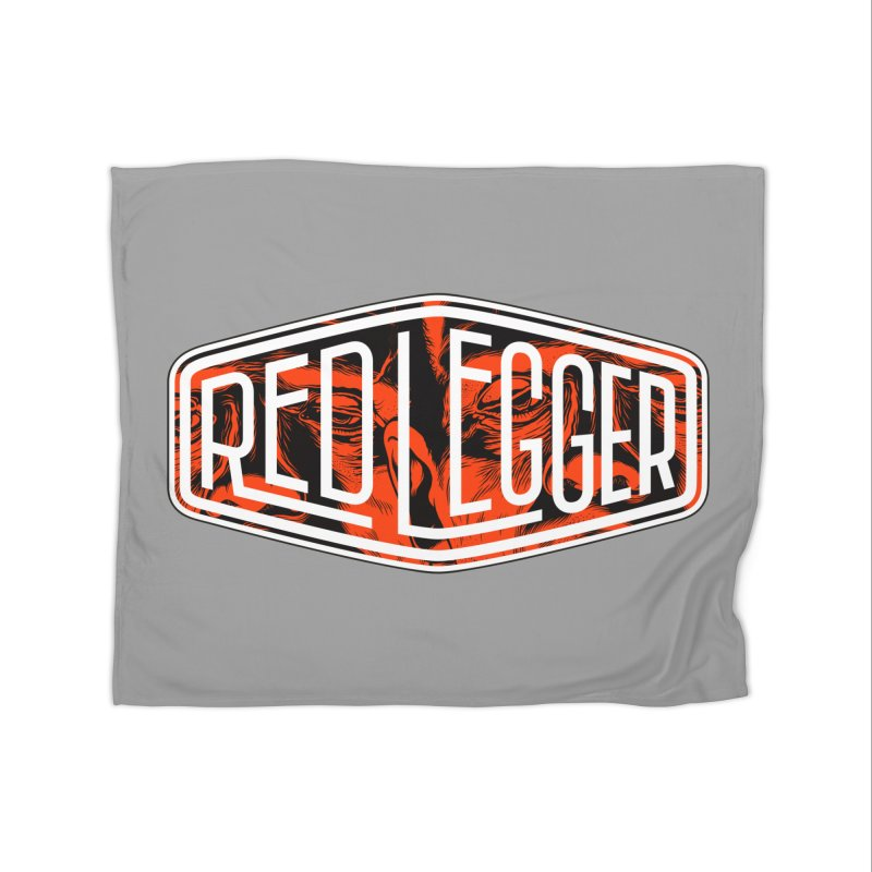 Red Legger Badge Home Blanket by redleggerstudio's Shop