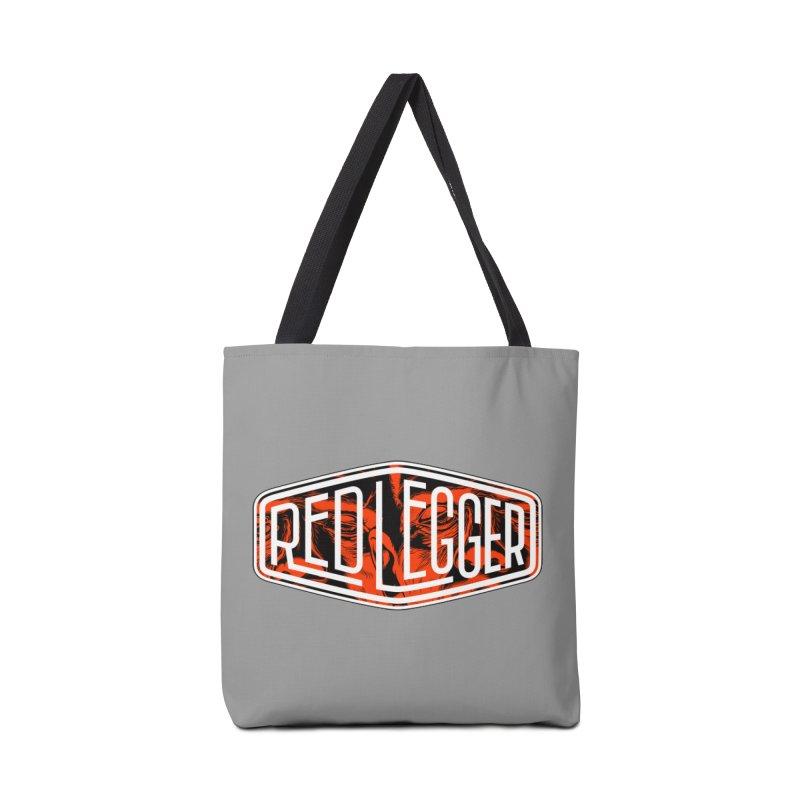 Red Legger Badge Accessories Bag by redleggerstudio's Shop