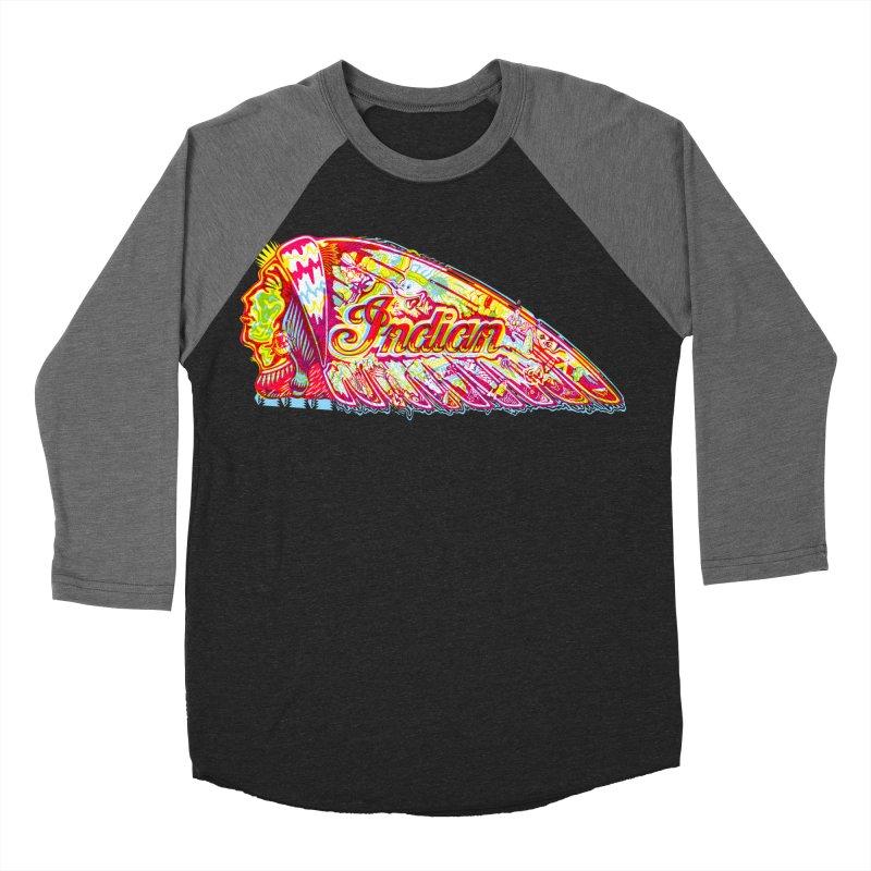 The Indian Women's Baseball Triblend T-Shirt by redleggerstudio's Shop