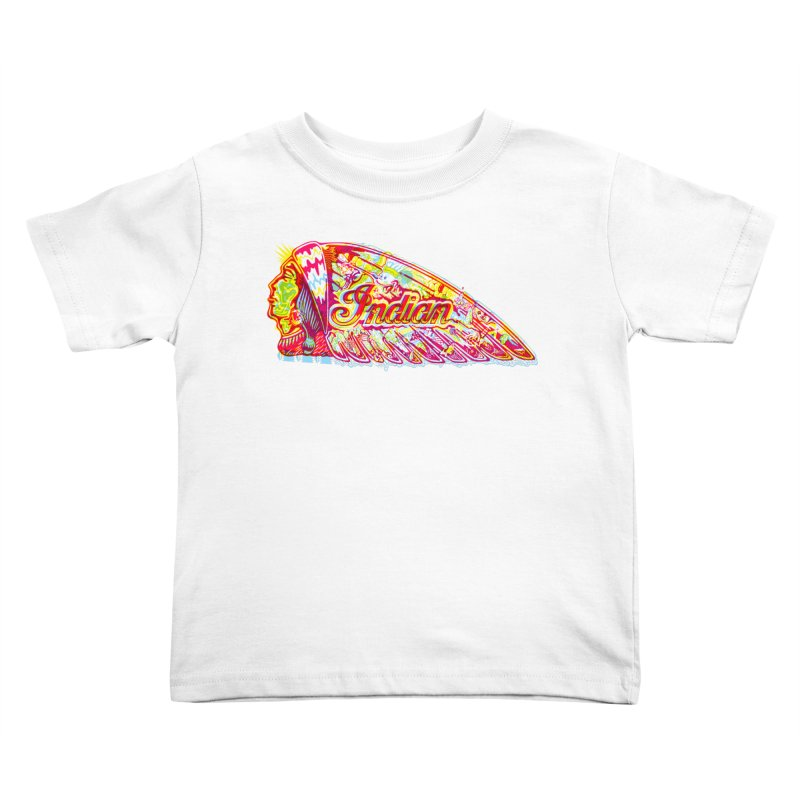The Indian Kids Toddler T-Shirt by redleggerstudio's Shop