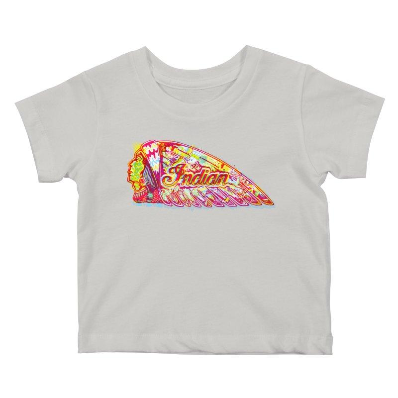 The Indian Kids Baby T-Shirt by redleggerstudio's Shop
