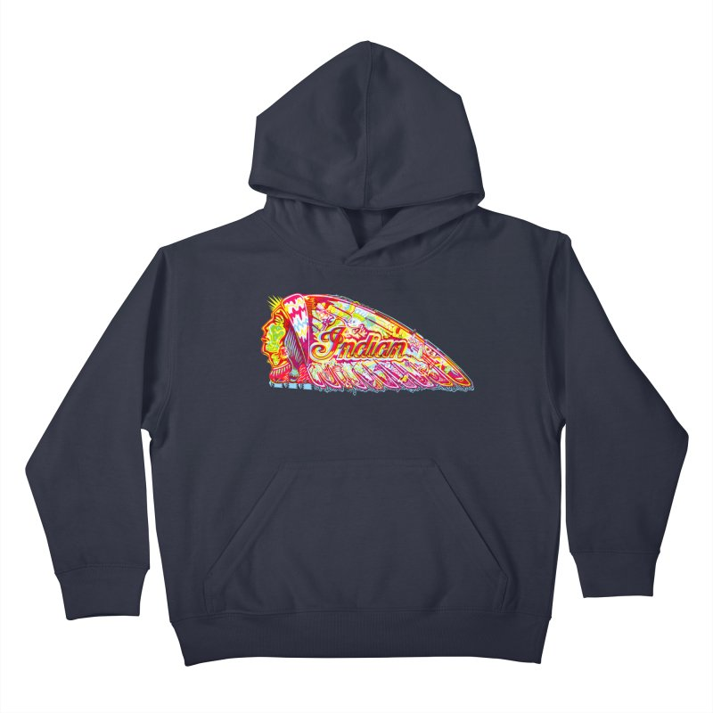 The Indian Kids Pullover Hoody by redleggerstudio's Shop